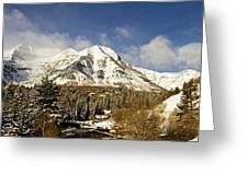 Mount Timpanogos Greeting Card