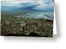 Mount Vesuvius Naples It Greeting Card