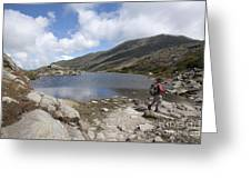 Mount Washington - New Hampshire Usa Lakes Of The Clouds Greeting Card