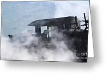 Mount Washington Cog Railroad - New Hampshire Usa Greeting Card