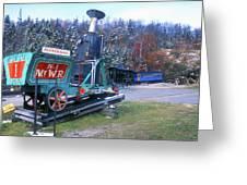 Mount Washington Cog Railway Greeting Card