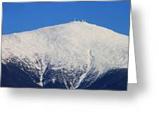 Mount Washington Summit And Weather Observatory Greeting Card