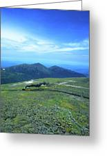 Mount Washington Summit Cog Railroad Greeting Card
