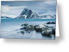 Mountain Blues Greeting Card