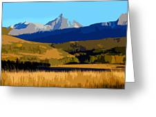 Mountain Country Greeting Card