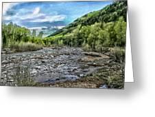 Mountain Creek Greeting Card
