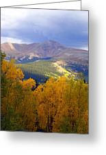 Mountain Fall Greeting Card