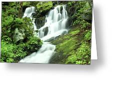 Mountain Falls Greeting Card