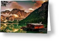 Mountain Getaway Greeting Card