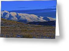 Mountain Glow Greeting Card