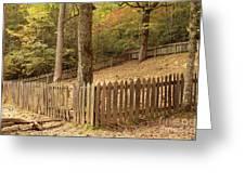 Mountain Graveyard Greeting Card