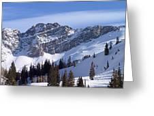 Mountain High - Salt Lake Ut Greeting Card