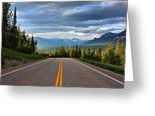 Mountain Highway Greeting Card