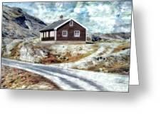 Mountain Home Greeting Card