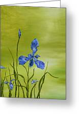 Mountain Iris Greeting Card