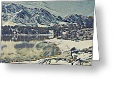 Mountain Lake, California Greeting Card