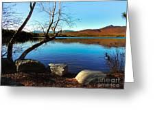 Mountain Lake Chocorua Greeting Card