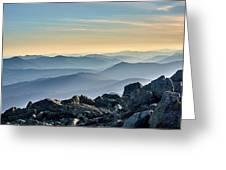 Mountain Layers Greeting Card