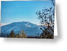 Mountain Majestic Greeting Card