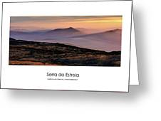 Mountain Mist Poster Greeting Card