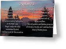 Mountain Morning Prayer Greeting Card