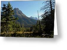 Mountain Opening Greeting Card
