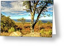 Mountain Overlook At High Point New Jersey Greeting Card