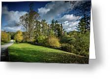 Mountain Parkway Greeting Card