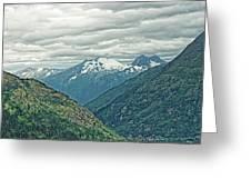 Mountain Pass Greeting Card