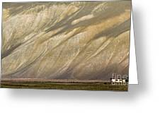 Mountain Patterns, Padum, 2006 Greeting Card