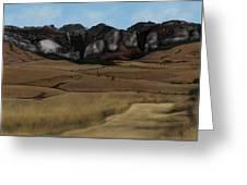 Mountain Plains Greeting Card