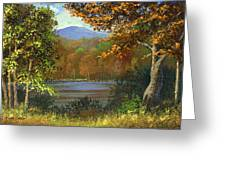 Mountain Pond Greeting Card