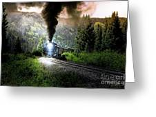 Mountain Railway - Morning Whistle Greeting Card