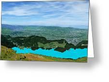 Mountain Retreat Greeting Card