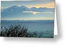 Mountain Scenery 14 Greeting Card