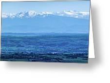 Mountain Scenery 16 Greeting Card