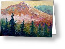 Mountain Sentinel Greeting Card