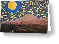 Mountain Sky Greeting Card
