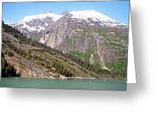 Mountain Slopes Greeting Card