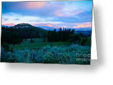 Mountain Sunrise Greeting Card