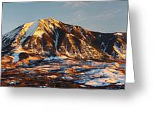 Mountain Sunsets Greeting Card