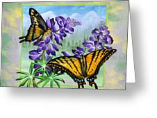Mountain Swallowtail Greeting Card