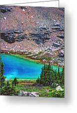 Mountain Tarn Greeting Card