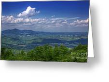 Mountain Veiw Greeting Card