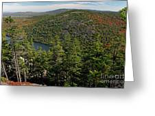 Mountain View, Acadia National Park Greeting Card