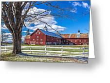 Mountain View Barn Greeting Card