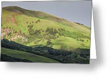 Mountain View From Gothic Road Greeting Card