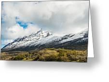 Mountain View Patagonia Chile Greeting Card