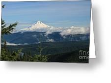 Mountain View Greeting Card