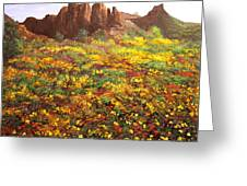 Mountain Wildflowers II Greeting Card